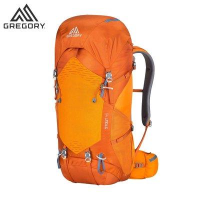 【新品】Gregory格里高利金石STOUT戶外背包男旅行徒步登山包雙肩包入門級