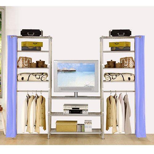 【中華批發網DIY家具】D-59-03-W4型60+90+60公分置物架---可升級成完全防塵置物架