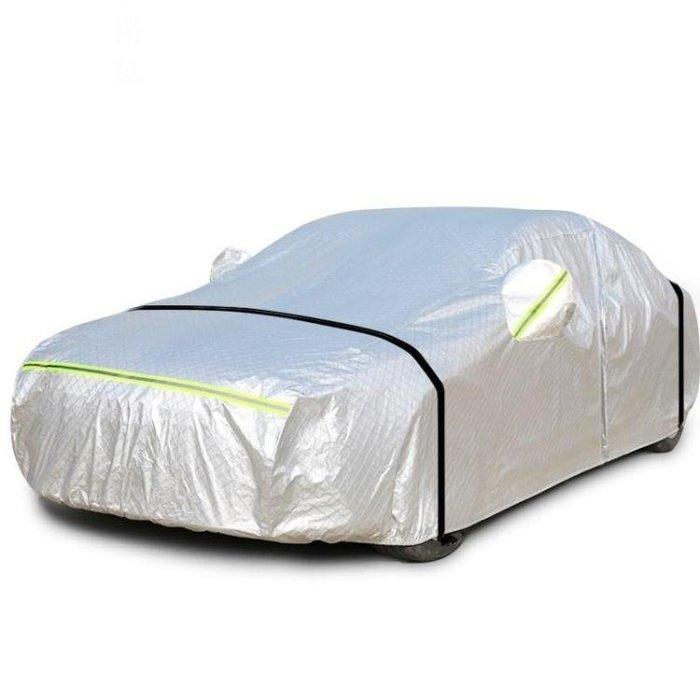 999汽車車衣車罩防曬防雨隔熱厚通用型保護車套遮陽罩夏季自動01KO03