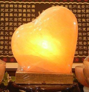 玄呈 鹽燈 純手工雕琢crystal lamp 鹽晶燈❤增桃花人緣❤心心相印 大愛心#L1↘2880元全館特價 產地直銷