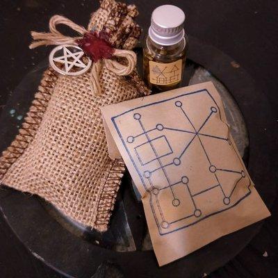 魔力袋+魔法油+魔法蠟燭 組合【藥魂】