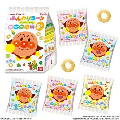 +東瀛go+5袋入 Tohato 東鳩 麵包超人 鹽味玉米脆餅 手指圈圈餅 適合一歲以上幼兒 日本進口