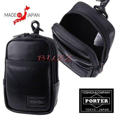 巴斯 日標PORTER屋- 預購 PORTER ALOOF相機-手機-腰掛包 023-03762