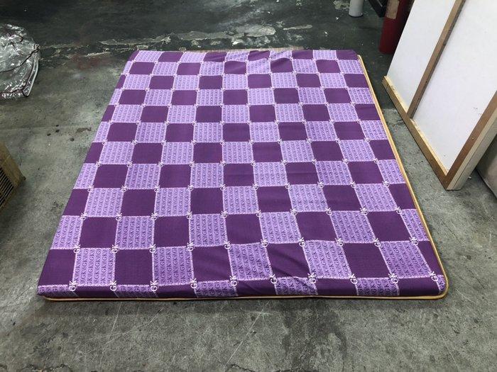 非凡二手家具 全新品 標準雙人椰子墊5X6.2尺(紫)*薄床墊*全新床墊*冬夏兩用