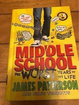 精裝硬殼英middle school the worst year of my life james patterson
