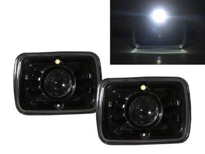 0331卡嗶車燈 FORD 福特 E-450 Econoline Super Duty Stripped 00-02 魚眼 大燈 黑
