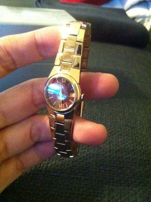CITIZEN 星辰錶 玫塊金手錶  xc
