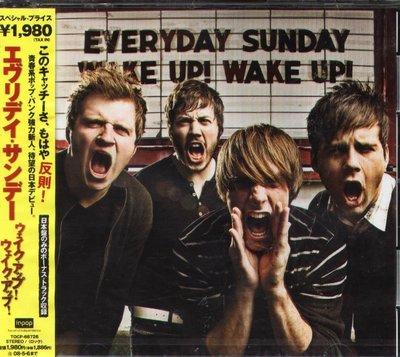 K - Everyday Sunday - Wake Up - 日版 +2BONUS - NEW