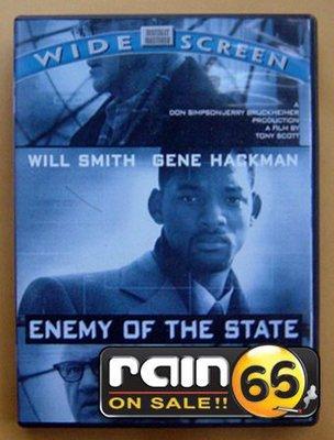 ⊕Rain65⊕正版DVD【全民公敵】-地球過後-威爾史密斯*失控的陪審團-金哈克曼(直購價)
