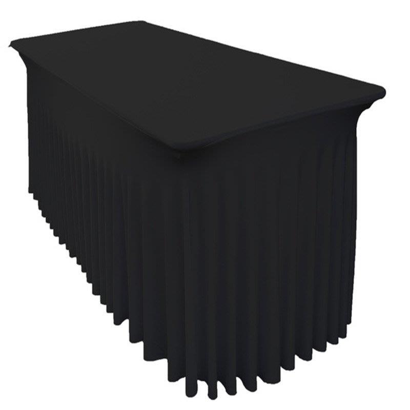 居家家飾設計 會議桌巾系列 水母式-彈性會議桌套(免套腳)-桌罩不易滑動/立體式剪裁車縫-使用防皺厚彈布!!