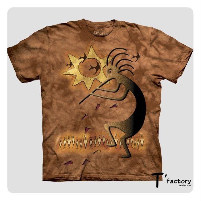 【線上體育】The Mountain 短袖T恤 S號 富饒之舞