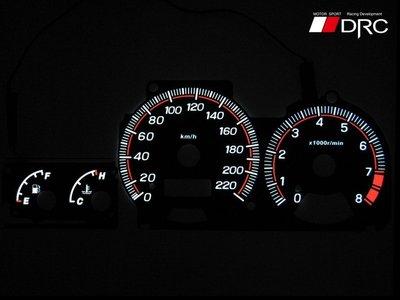 《達克冷光實體店面 現貨供應》SUBARU GC8 無渦輪 高反差冷光儀表