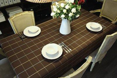尼克卡樂斯~北歐風咖啡格桌巾—loft...