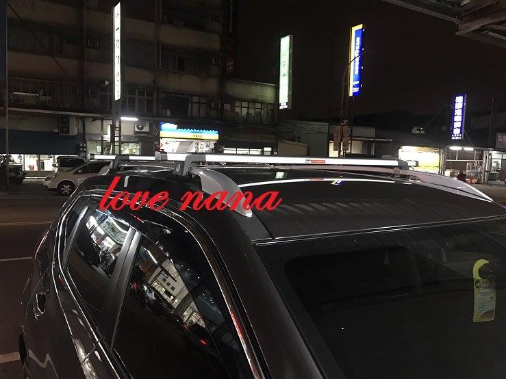 [[娜娜汽車]豐田 RAV4 4代4.5代 專用 鋁合金行李架 橫桿 車頂架 (檢驗合格) 台灣製
