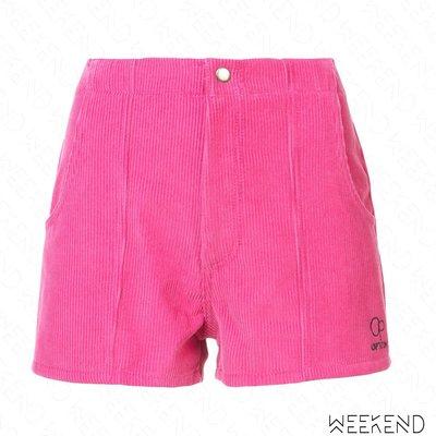 【WEEKEND】 ADAPTATION 後鬆緊 短褲 粉色