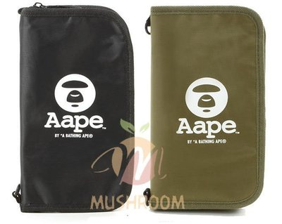 全新 日本 雜誌 A BATHING APE BAPE 猿人 長夾 皮夾 皮包 零錢包 證件包 護照夾 信用卡包 肩背包