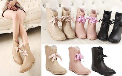 GOGO SHOP♥ GT0012 ♥╭☆雪靴*現貨ViVi日本熱賣西部牛仔雨靴雨鞋 水鞋 防水短靴 中筒靴