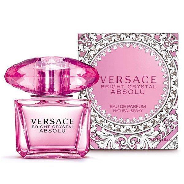 ♡NANA♡ VERSACE Bright Crystal Absolu 絕對香戀水晶女性淡香精 90ML