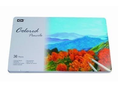 【鑫鑫文具】萬事捷 MONA 36色鐵盒裝油性彩色鉛筆~~234元