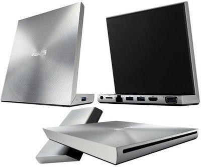刷卡免運!!!※台北快貨※華碩ASUS VariDrive USB 3.0 DVD Dock 外接光碟機+擴充埠