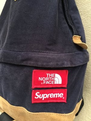 THE NORTH FACE * Supreme 聯名款後背包(palace/off white)