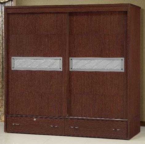 桃園國際二手貨中心 --- 7尺x7尺滑門衣櫃