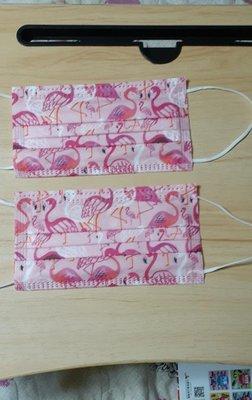 火烈鳥成人口罩5片包裝