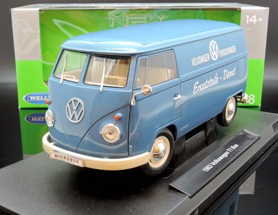 【M.A.S.H】現貨瘋狂價 Welly NEX 1/18 VW T1 Bus Spare parts service