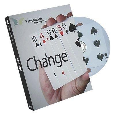 【意凡魔術小舖】 美國原版 ~Change by SansMinds ~牌變~