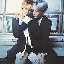 TROUBLE MAKER HyunA(4Minute) + Hyunseung(BEAST) - Chemistry Poster