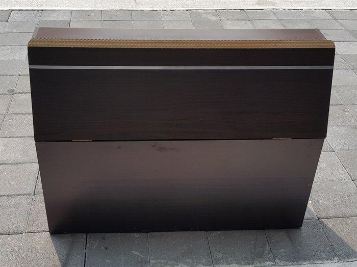 樂居二手家具 A0314HJ 胡桃色3.5尺床頭櫃 收納櫃 置物櫃 櫥櫃 儲藏櫃 床邊櫃 床組 床墊*2手家具 中古家電