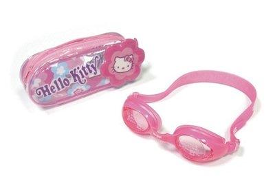 【阿LIN】632AAA 泳鏡 Kitty兒童矽膠 A632 KITTY 全矽膠兒童泳鏡 凱蒂貓 KT PC鏡片 泳鏡袋