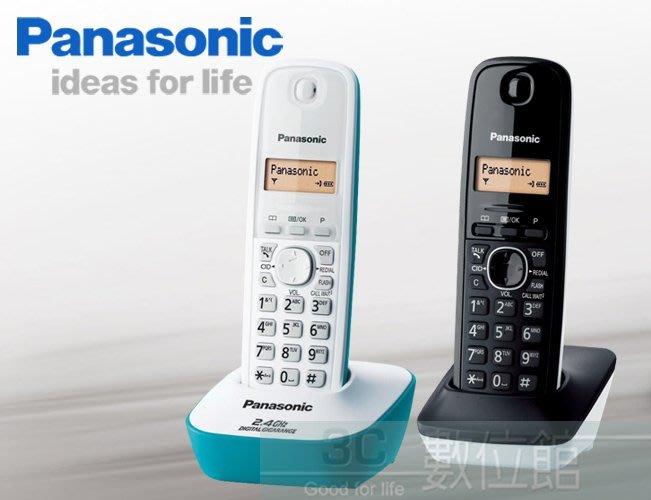 【6小時出貨】Panasonic 全新2.4G高頻數位雙手機無線電 KX-TG3412 | 調色系率性混搭 | 來電顯示