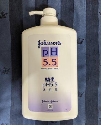 『BAN'S SHOP』嬌生pH5.5溫和沐浴乳 1000ML 全新
