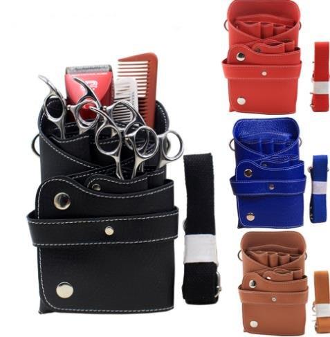 六支裝發型剪刀師腰包挎包工具包寵物美容師剪刀包理發剪刀包梳子