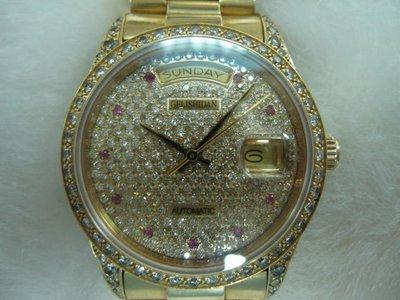 GELISHIDAN 格黎詩丹 18K 750 鑽錶