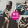 【JS 姊妹時代】【CBG110】夏日原素寬鬆字母...