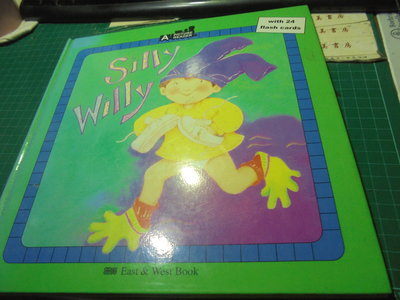 兒童英語圖畫a picture reader silly willy東西出版伅33-6美美書房