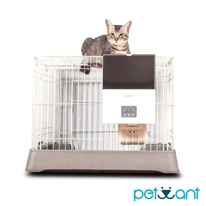 原廠公司貨台灣保固-PETWANT 籠子專用寵物自動餵食器 F4 LCD(不含籠子)