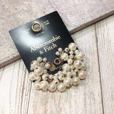 Maple麋鹿小舖 Abercrombie&Fitch * AF 珍珠造型手鍊 * ( 現貨 )