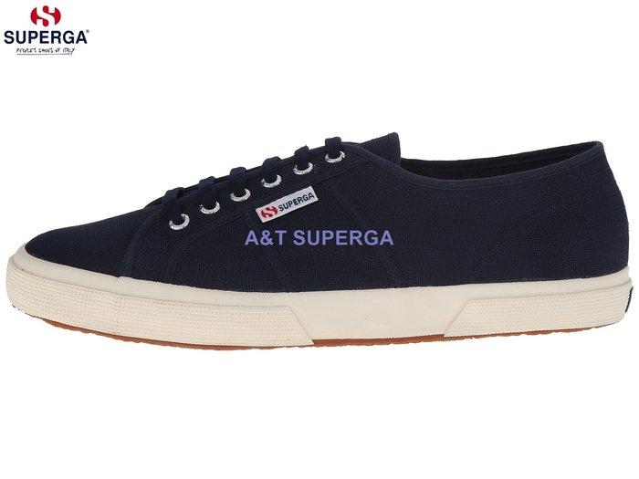 【SUPERGA藍】2750 COTU CLASSIC義大利國民鞋 經典帆布鞋 男女休閒鞋全新正品 現貨+預購