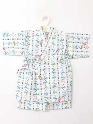 ✪胖達屋日貨✪褲款 130cm 白底 印章 蜻蜓 日本 男 寶寶 兒童 和服 浴衣 甚平 抓周 收涎 攝影