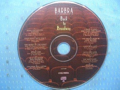 [無殼光碟]FC  Barbra Streisand  Back to Broadway
