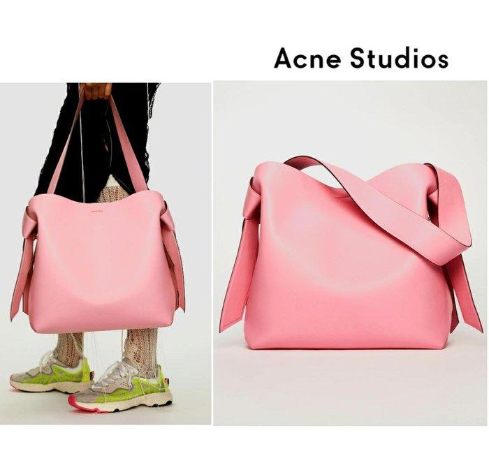 Acne Studios ► ( 粉紅色 )musubi / 39×35×15 cm  / 大款 托特包 肩背包 手提包 |100%全新正品|特價!