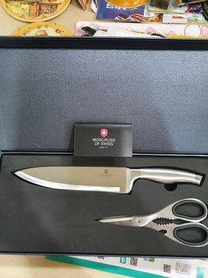 瑞士MONCROSS琥珀典藏二件組(刀+剪組)