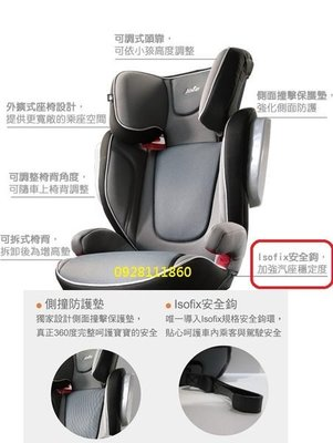 奇哥 Joie trillo 兒童成長汽座 isofix 3~12歲成長型汽車安全座椅JBD60300A