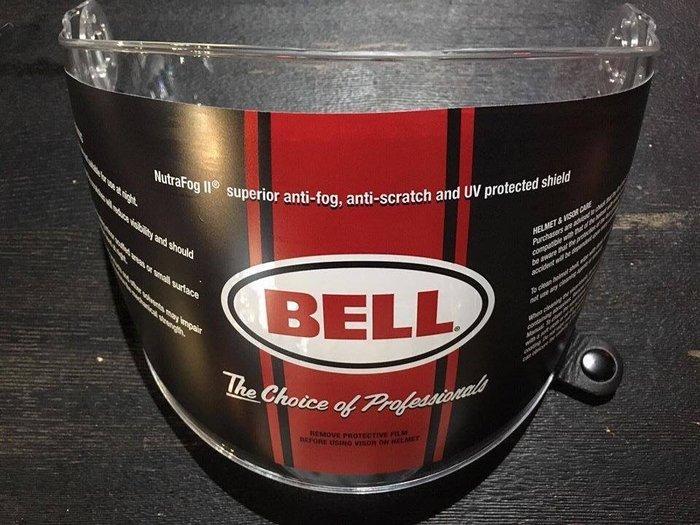 (I LOVE樂多)BELL Bullitt 專用鏡片(透明)盾鏡