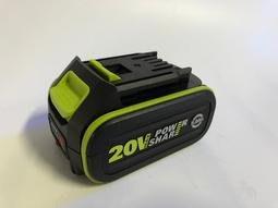 全新原廠大腳板 WORX 威克士 ROCKWELL 羅克威爾 20V 5.0薄鋰電池 帶電源顯示 WU629用電池