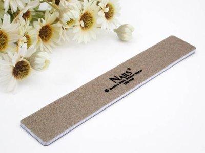 艾薇 Ivy's Nail美甲批發╭*justnail Nails方形褐色磨板150/150 (Y2AD00)
