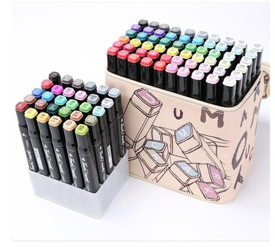 正品touchmark油性雙頭馬克筆套裝手繪設計彩筆學生繪畫30色初學者美術生專用